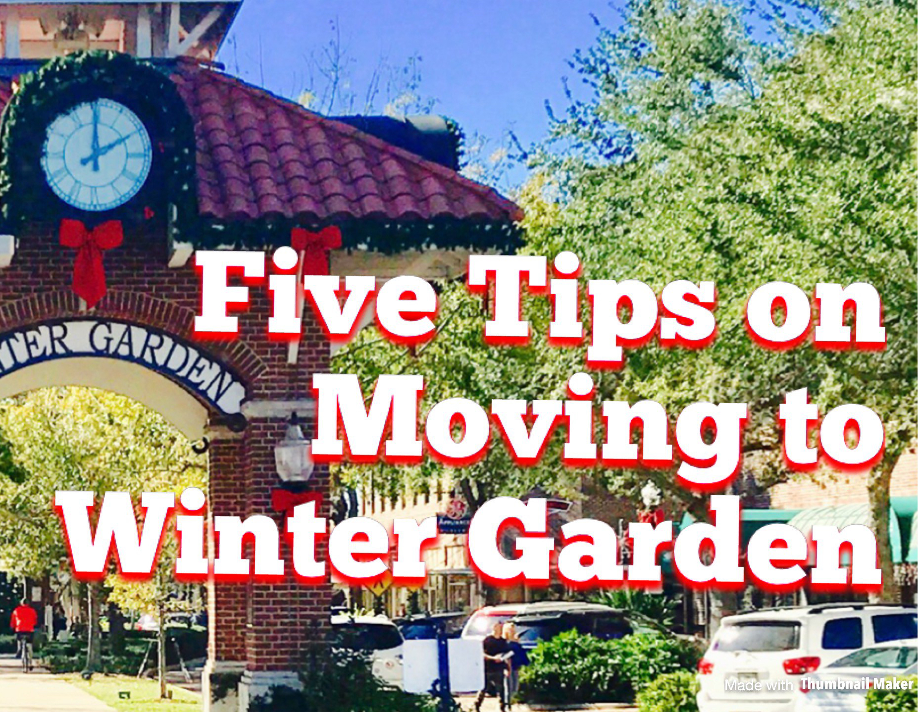 5 Helpful Tips For Moving To Winter Garden, FL