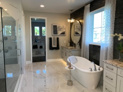 Luxurious Master En Suite Bath of the Model Home at Sanctuary at Twin Waters